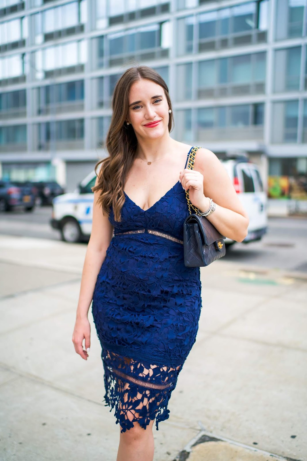 Formal Wedding Guest Dress (Under $100) featured by popular New York style blogger, Covering the Bases
