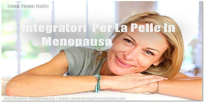 Integratori Per La Pelle In Menopausa