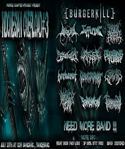 INDONESIAN OVERLOAD #3 (July 23th 2011, Need more band)