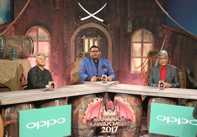 MAHARAJA LAWAK MEGA 2017 minggu yang ke 3 - www.ohselebriti.com