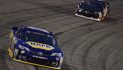 Todd Gilliland lead 116 laps to record the overall win at Iowa Speedway in the combination race for the #NASCAR K&N Pro Series