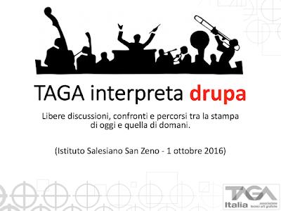 """Tour """"TAGA interpreta drupa"""" - VERONA"""