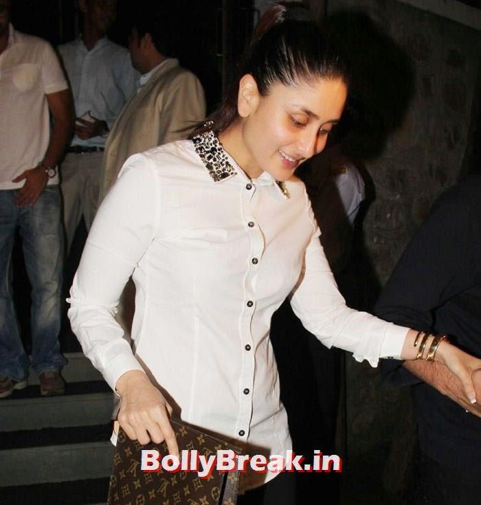 Kareena Kapoor Khan, Kareena Kapoor, Alvira, Mehr Snapped at Nido