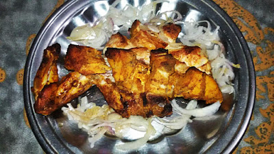 Smokey BBQ Chicken Tandoori Food Recipe For Dinner