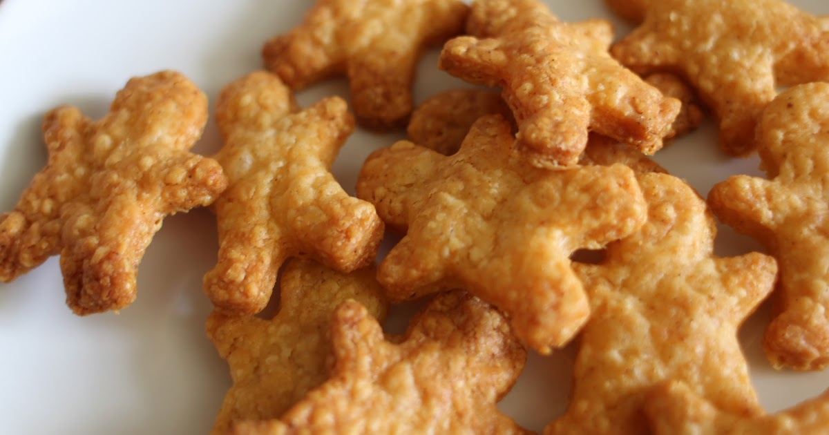 Mamacook Little Gold Men Or Cheese Biscuits For Babies