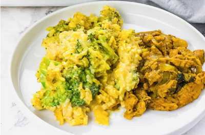Veggie lover Broccoli Rice Casserole #food