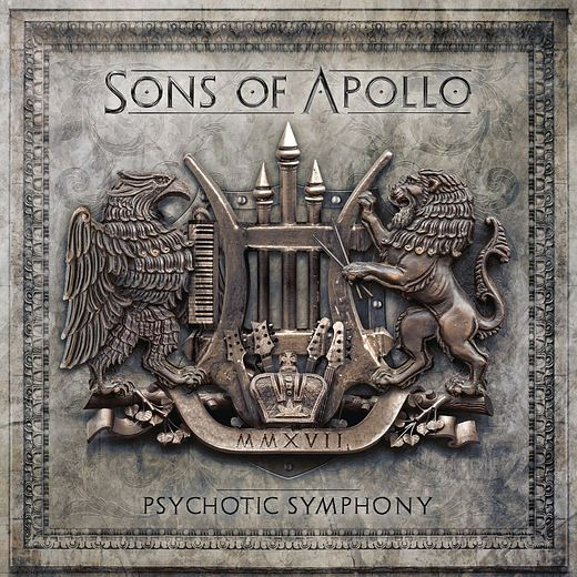SONS OF APOLLO - Psychotic Symphony (2017) retail full