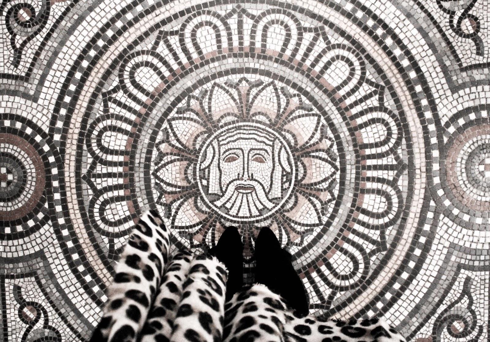 Mosaic Tile Flooring at The Fitzwilliam Museum