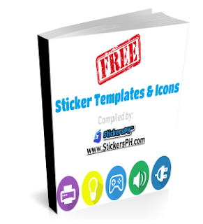 FREE Sticker Templates & Icons