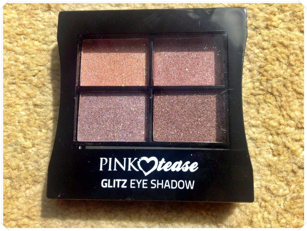 makeup rumours glitz eyeshadow palette review