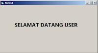 berhasil login sebagai user di vb 6.0 dan mysql