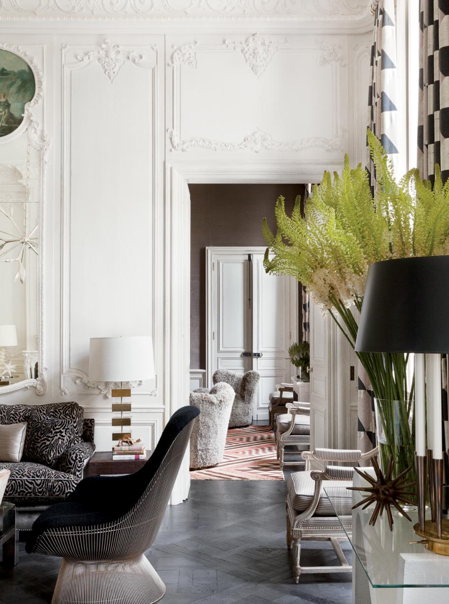 Shelter lauren santo domingo in paris for Appartamenti decor