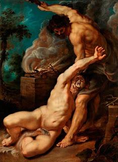 "La peinture ""Caïn tuant Abel"", par Rubens"