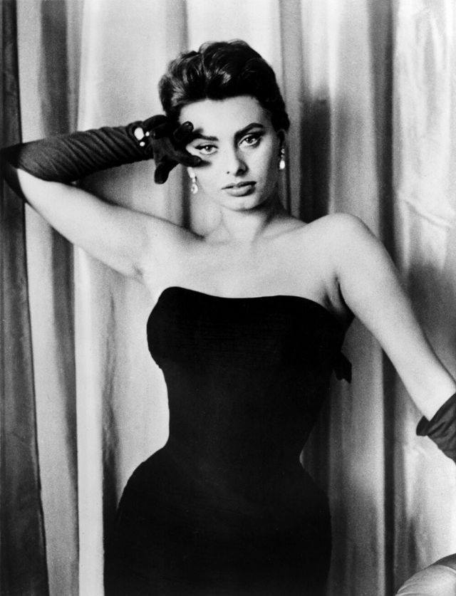 Sophia Loren Can Make Even Visible Armpit Hair Seem Sexy