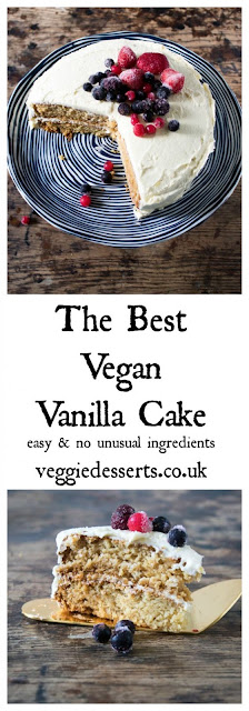 The Best Vegan Vanilla Cake with Berries Recipes
