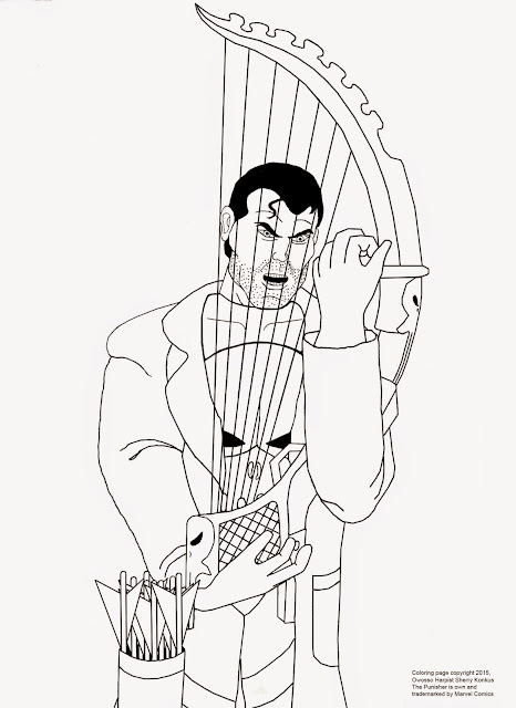 Coloring pages coloring pages of the punisher