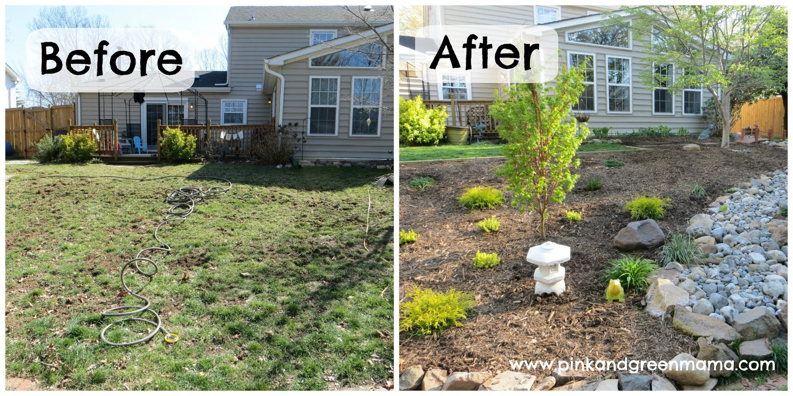 the art photo : DIY Backyard Makeover on a Budget with ... on Backyard Landscaping Ideas On A Budget id=82035