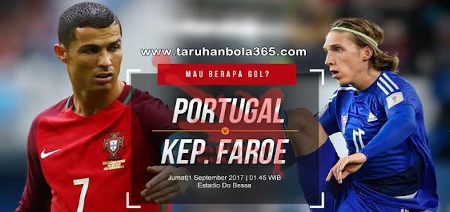 Prediksi Taruhan Bola 365 - Portugal vs Kep. Faroe 1 September 2017