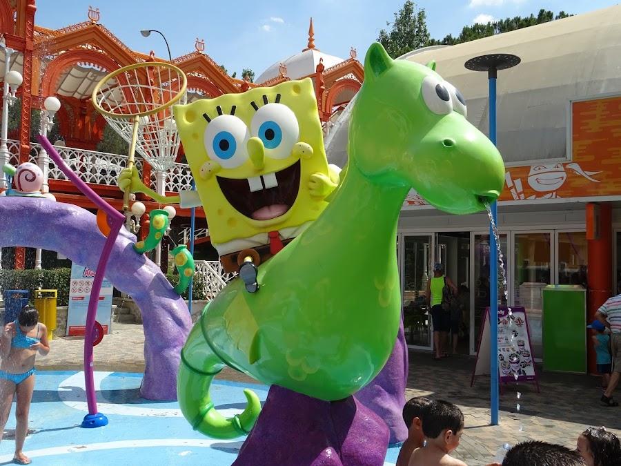 Bob Esponja en Nickelodeon Land, Parque de Atracciones de Madrid