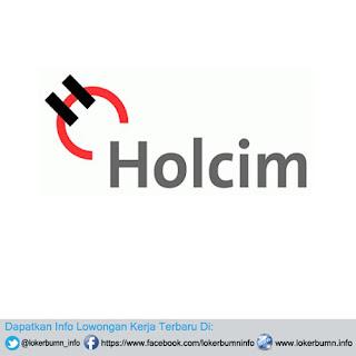 Lowongan kerja PT Holcim Indonesia terbaru lulusan S1