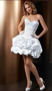 vestido de noiva curto balonê
