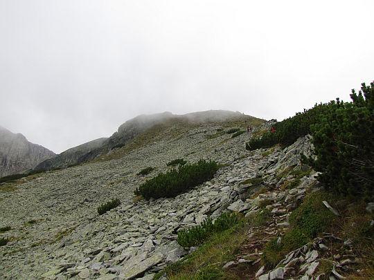 Razlozhski Suhodol (2570 m n.p.m.) widziany z Suchodolskiego Prewału.