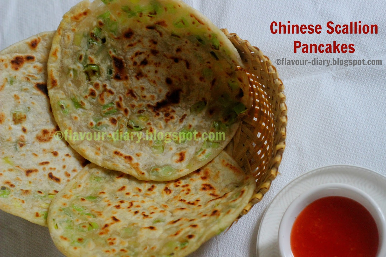 Chinese Scallion Pancake Recipe