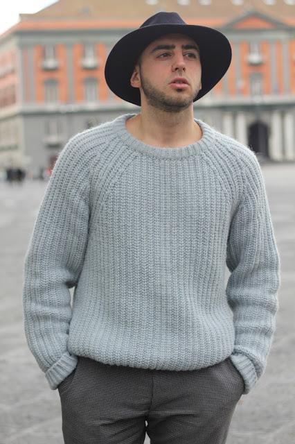 maglione di lana cotta outfit uomo