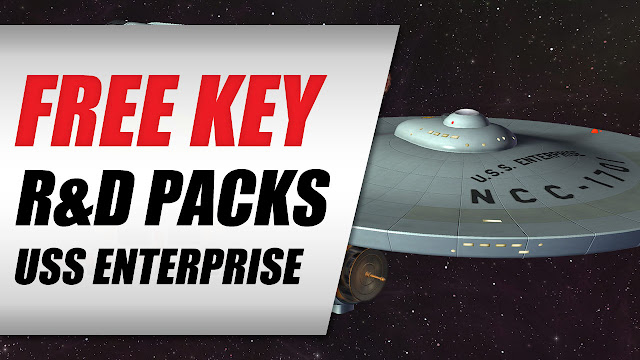 Star Trek Online • Claimed USS Enterprise T1 And R&D Packs