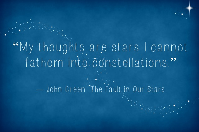 Stephs Stacks Quote Of The Week The Fault In Our Stars By John Green