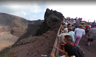 Vesuvius National Park is a national park on the active volcano Vesuvius