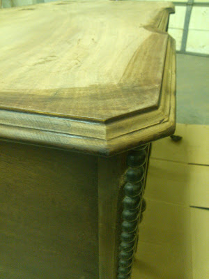Postcards from the Ridge:  How to refinish furniture tutorial with complete instructions.