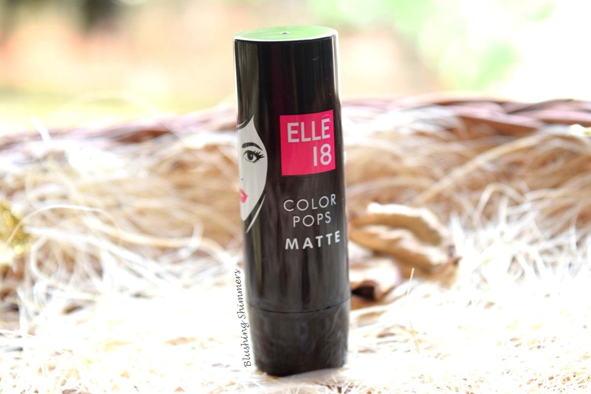 Elle 18 Color Pops Matte Lipstick