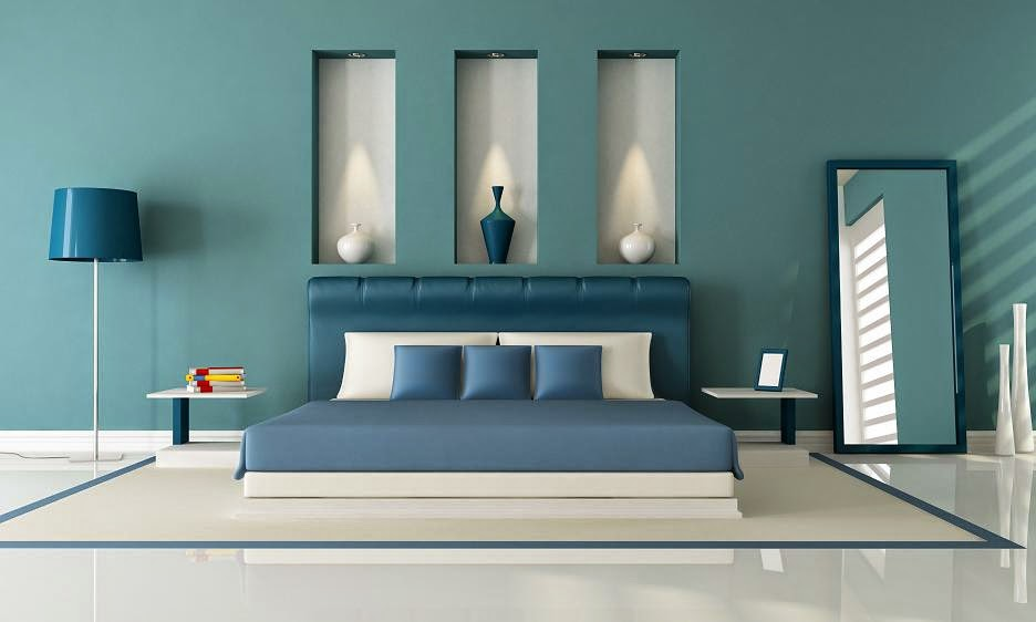 Dormitorios color azul - Color pared habitacion ...