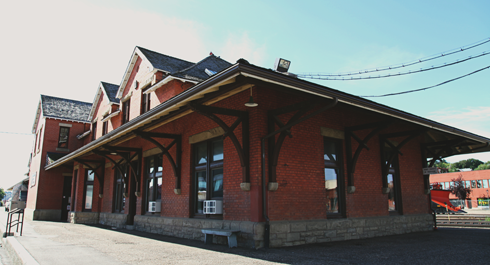 Train Station CPR Medicine Hat Alberta