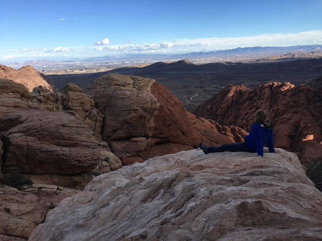 Hiking in Vegas on the Calico Hills Trail