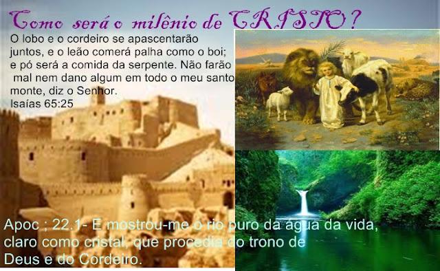 no milênio de Cristo nascerão crianças