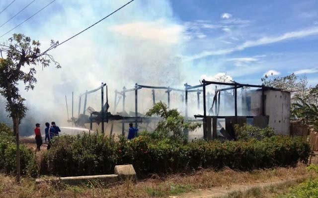 Sengketa Lahan `Duel Maut` Berujung Pembakaran Rumah