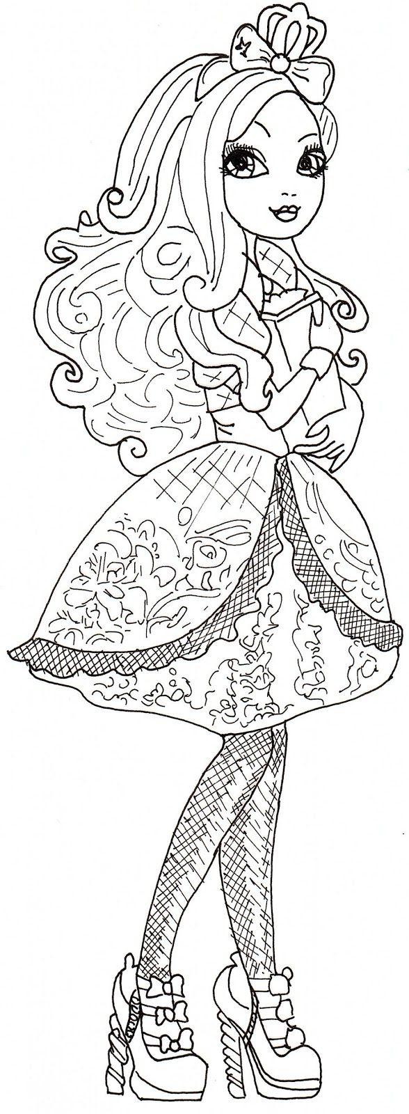 Free Printable Ever After High Coloring Pages: June 2013
