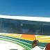 Ônibus da Cidade Sol que seguia para Serrolândia, apresenta problema e fumaça na BA-052