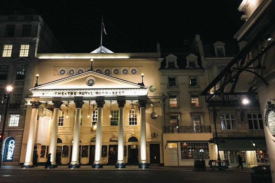 ヘイマーケット王立劇場(The Theatre Royal Haymarket )