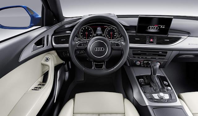 Novo Audi A6 2017 - interior