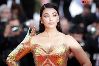 Aishwarya Rai ke bade boobs at Cannes 2019