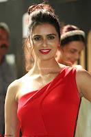 Meenakshi Dixit in Red One Shoulder Red Zipped up gown at IIFA Utsavam Award 56.JPG