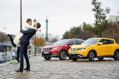 Του Αγίου Βαλεντίνου γιορτάζει και η Nissan !