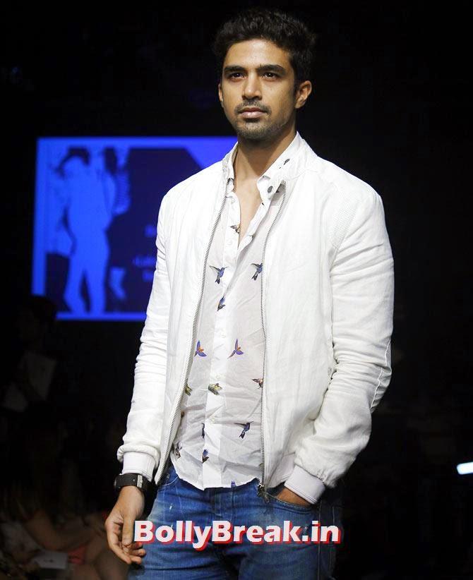 Saqib Saleem, LFW 2014 Pics  - Lakme Fashion Week 2014 Photo Gallery