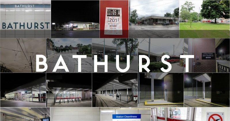 Bathurst station photo gallery