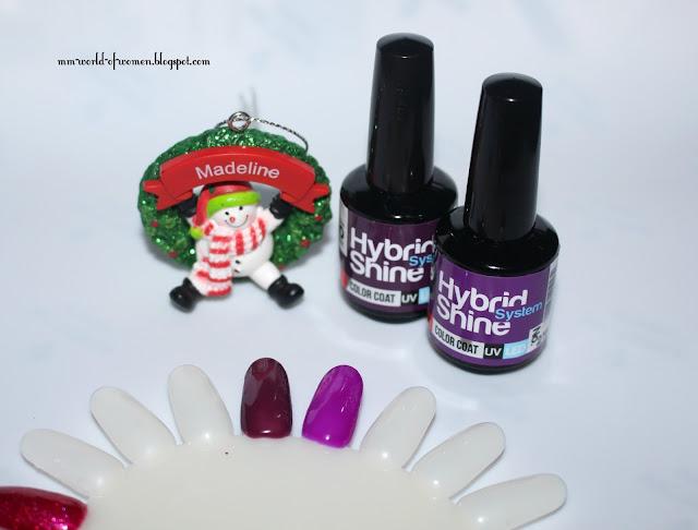 Świąteczny manicure z lakierami MOLLON PRO