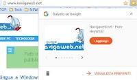 """Estensioni Google """"Salva preferiti"""" per Chrome"""