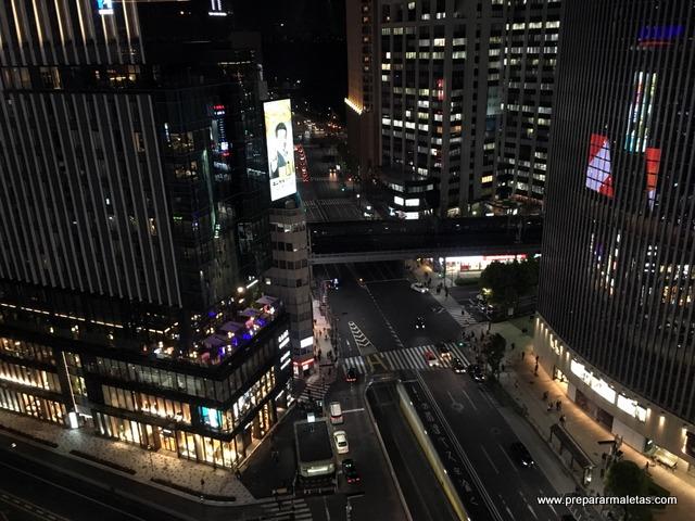 mirador en Ginza
